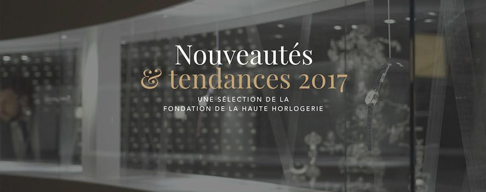 Tendances et Nouveautés 2017 (2/4)