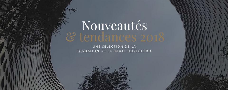 Tendances et Nouveautés 2018