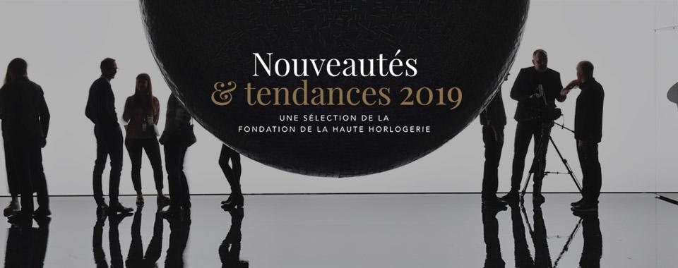 Tendances et Nouveautés 2019