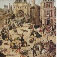 Saint Bartholomew's day massacre, 1572