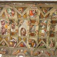 Sistine chapel, Michelangelo © Aaron Logan