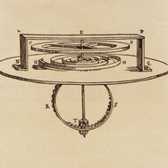 Spiral balance spring for watches, Huygens © MHE, 1675