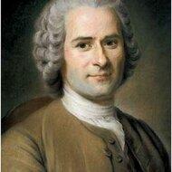 Jean-Jacques Rousseau's portrait