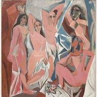 Les Demoiselles d'Avignon par Picasso / 1907