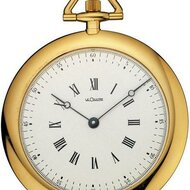 Extra-thin watch by Lecoultre