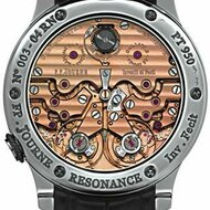 First resonance watch, F. P Journe, verso
