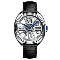 Cartier : Clé de Cartier Squelette Automatique