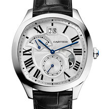 Drive de Cartier Large Date Retrograde Second Time Zone and Day/Night Indicator