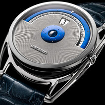 Guillochage - Montre DB28 Digitale © De Bethune