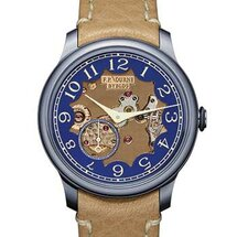 Chronomètre Bleu Byblos