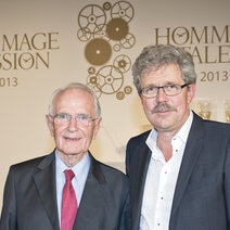 "Mr Walter Lange ""Hommage à la Passion"" et Mr Jean-Marc Wiederrecth ""Hommage au Talent"""