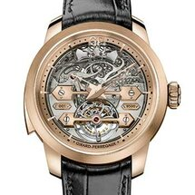 Minute Repeater Tourbillon with Gold Bridges