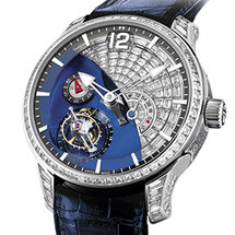 Tourbillon 24 Secondes Contemporain Serti腕表