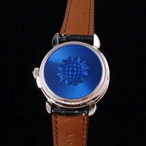 凯里-沃迪莱恩:GMT-6 Enamel Double Back腕表