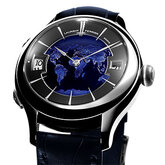 Galet Traveller Globe Night Blue