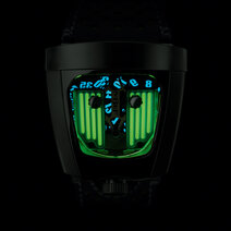 MB&F: HMX Black Badger Green