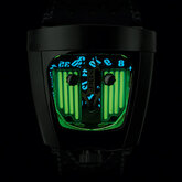 HMX Black Badger Radar Green