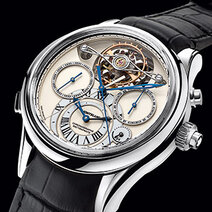 Montblanc : Collection Villeret 1858 - Exo Tourbillon Rattrapante