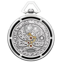 Montblanc : Collection Villeret Tourbillon Cylindrique Pocket Watch 110 Years Edition