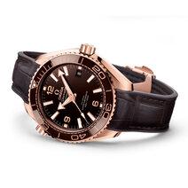 "Omega: Seamaster Planet Ocean 600M Master Chronometer ""Chocolate"""