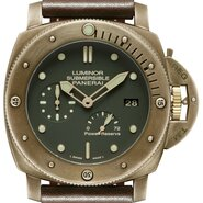 LUMINOR SUBMERSIBLE 1950 3 DAYS POWER RESERVE AUTOMATIC BRONZO - Panerai 2013