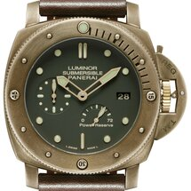 LUMINOR SUBMERSIBLE 1950 3 DAYS POWER RESERVE AUTOMATIC BRONZO