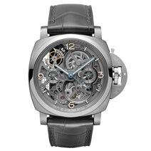 Panerai: Lo Scienziato – Luminor 1950 Tourbillon GMT Titanio – 47mm