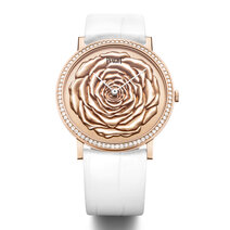 Piaget: Altiplano 38 mm engraved gold dial