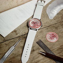 Piaget: Altiplano 38 mm wood & mother-of-pearl marquetry