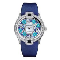 罗杰杜彼:Blossom Velvet Blue花漾名伶系列绮蓝腕表