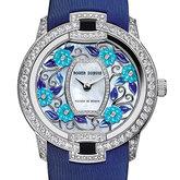 Blossom Velvet Blue花漾名伶系列绮蓝腕表