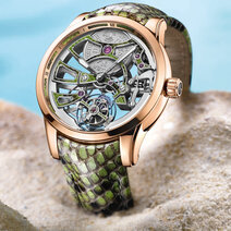 Ulysse Nardin : Royal Python Skeleton Tourbillon
