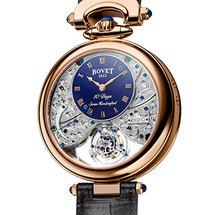 Amadeo® Fleurier Edouard Bovet十天动力三时区显示飞行陀飞轮腕表