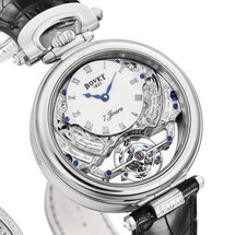 Amadeo® Fleurier Rising Star - Triple Time Zone Tourbillon with Reversed Hand-Fitting