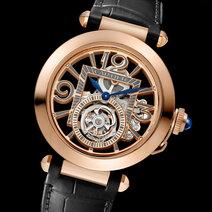 Cartier: Pasha de Cartier Tourbillon Skeleton Watch