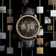 Cartier: Ronde Louis Cartier Regard de Panthère Watch
