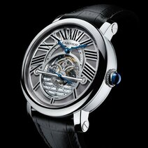 Cartier : Montre rotonde de Cartier Astrorégulateur/2011