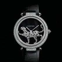 Cartier : Promenade d'une Panthère watch, calibre 9603 MC/2012