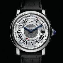 Montre Rotonde de Cartier Répétition Minutes Tourbillon Volant calibre 9402 MC, Poinçon de Genève