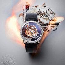 Ronde Louis Cartier XL Or Flammé