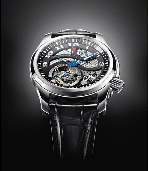 Chopard LUC Tourbillon tried the Twist Carbon Tech