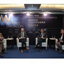 Richard Mille, CEO Richard Mille, David von Gunten, CEO Audemars Piguet (Hong Kong), Alain Li, CEO Richemont Asia Pacific and Fabienne Lupo, Chairwoman & Managing Director FHH
