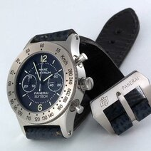 Chronographe-bracelet Panerai mare nostrum slytech