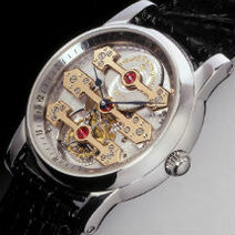 Girard-Perregaux : Tourbillon with three gold bridges/1991