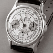 Wrist chronograph with asthmometer