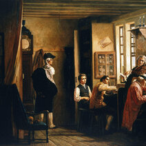 """""""Les cabinotiers"""" Geneva, 1879"""