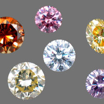 "Diamants de couleur ""fancy"" ou ""fantaisie"""
