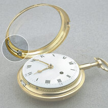 Quarter-repeater pocket watch à toc