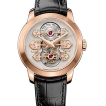 Girard-Perregaux: Tourbillon with three gold bridges