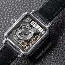 Swiss Alp Watch Minute Rétrograde